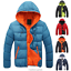 Fashion-Men-Boy-Winter-Warm-Hooded-Thick-Padded-Jacket-Zipper-Slim-Outwear-Coat miniatura 2