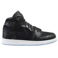 Air Jordan 1 Retro Hi Prem Hc Heiress Big Kids 832596-001 Black Shoes Size 6.5 on sale