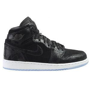 c0e5d5ada9ad89 Air Jordan 1 Retro HI Prem HC Heiress Big Kids 832596-001 Black ...
