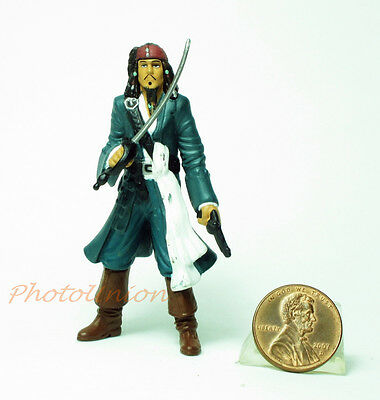 Cake Topper PIRATES OF THE CARIBBEAN JACK SPARROW Decoration Toy Model A146
