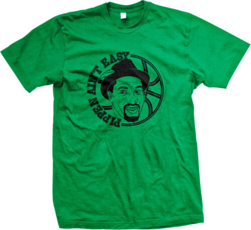 Pippen Aint facile Drôle Humour Bulls Joueur De Chicago coéquipier aider T-shirt Homme