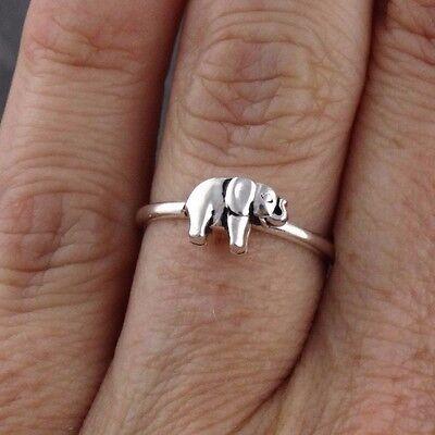 NOVICA .925 Sterling Silver Animal Themed Adjustable Toe Ring Elephant Walk One Size