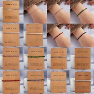Womens-Crystal-Rhinestone-Cubic-Zircon-Bracelet-Adjustable-Bangle-Jewllery-Gift