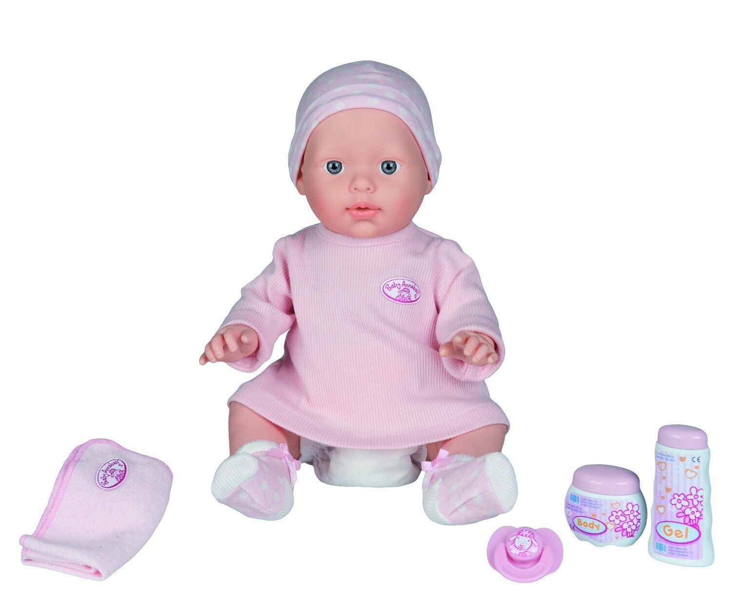 Orig. Orig. Orig. Zapf >>> Baby Annabell Care for me / Badepuppe <<< 42 cm 7c1234