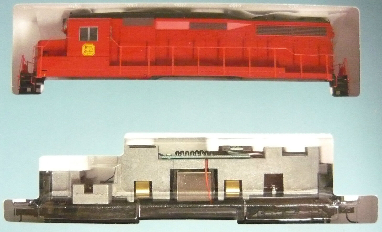 Life Like Predo 2000 21524 GP30 Locomotive KCS 105 New & in Original Box