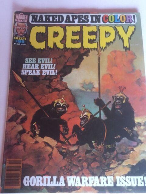 Creepy #95 (Feb 1978, Warren) Gorilla Warfare