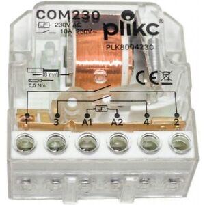 Relè elettromeccanico ad impulsi (Commutatore 230V) - Plikc COM230