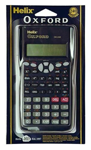 Scientific Calculator With Hard Cover For Back To School Home Office /& GCSE/'s