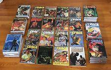 Sanctum Books DOC SAVAGE #1-87 Full Run; All 182 Novels; 9 Bama Cover Variants