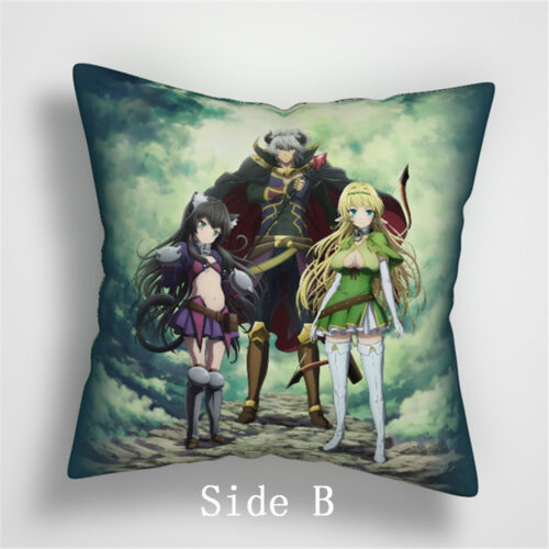 Isekai Maou to Shoukan Shoujo no Dorei Majutsu two sides Pillow Case Cover 904