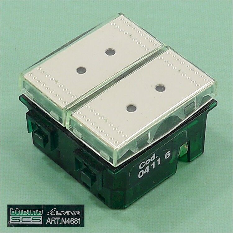 NEW bticino AXOLUTE N4681 Switch OPEN BOX