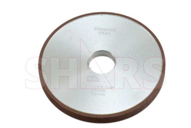 "SHARS 6 X 1//2/"" D1A1 STRAIGHT STYLE DIAMOND WHEEL 150 GRIT NEW"