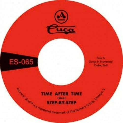 """STEP-BY-STEP Time After Time/She's Gone 7"""" NEW VINYL Numero Eccentric Soul"""