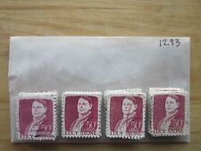 # 1293 x 100 Used US Stamps  Lucy Stone Issue  see our other lots