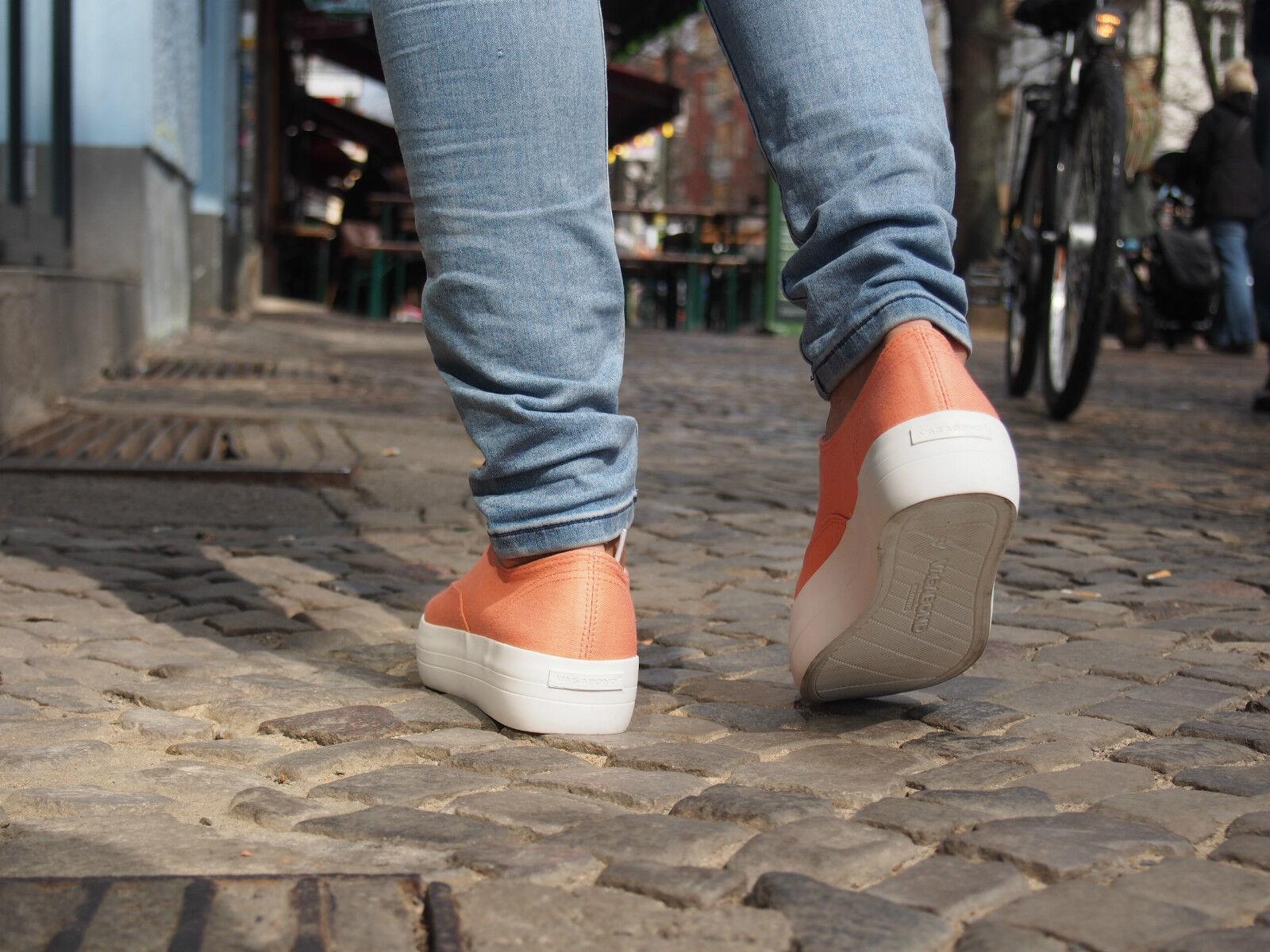 VAGABOND Schuhe KEIRA 4144-180-44 lt apricot NEU Damen Sneaker Plateausohle SALE