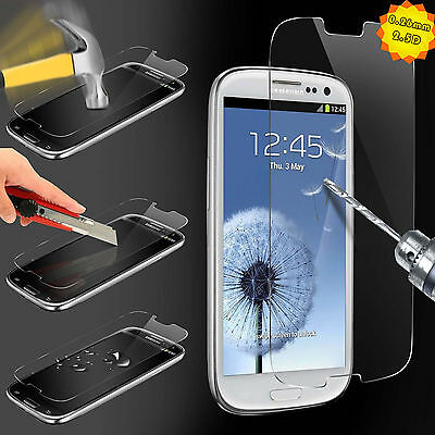 HD 9H Tempered Glass Screen Protectors Film for Samsung Galaxy S3 S4 S5 Note 3 4
