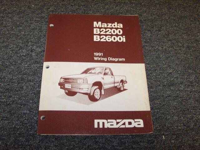 1991 Mazda B2200 B2600i Pickup Truck Original Electrical