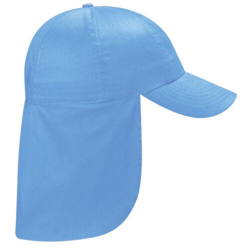 Childrens Sun Legionnaire Hat Cap Kids Junior Childs CAN BE PERSONALISED