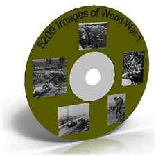 5200 Images of World War 1 Photos Maps Posters etc  CD