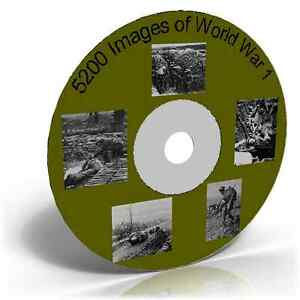 5200-Images-of-World-War-1-Photos-Maps-Posters-etc-CD