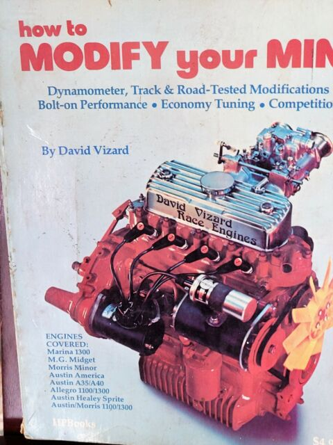 HOW TO MODIFY YOUR MINI By David Vizard Good condition, used. 2 Copies availabl