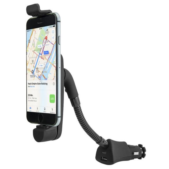 KFZ Auto Handy Halter Halterung Zigarettenanzünder Apple iPhone XS XR X 8 7 6 SE