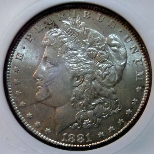 1881 O Morgan Choice Uncirculated Silver Dollar High Grade Nice Luster