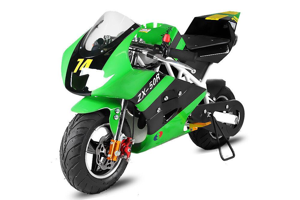 49cc Pocketbike PS50 Rocket Rocket Rocket Deluxe Sport Bike Kupplung  Minibike Crossbike 49ccm 09bcef