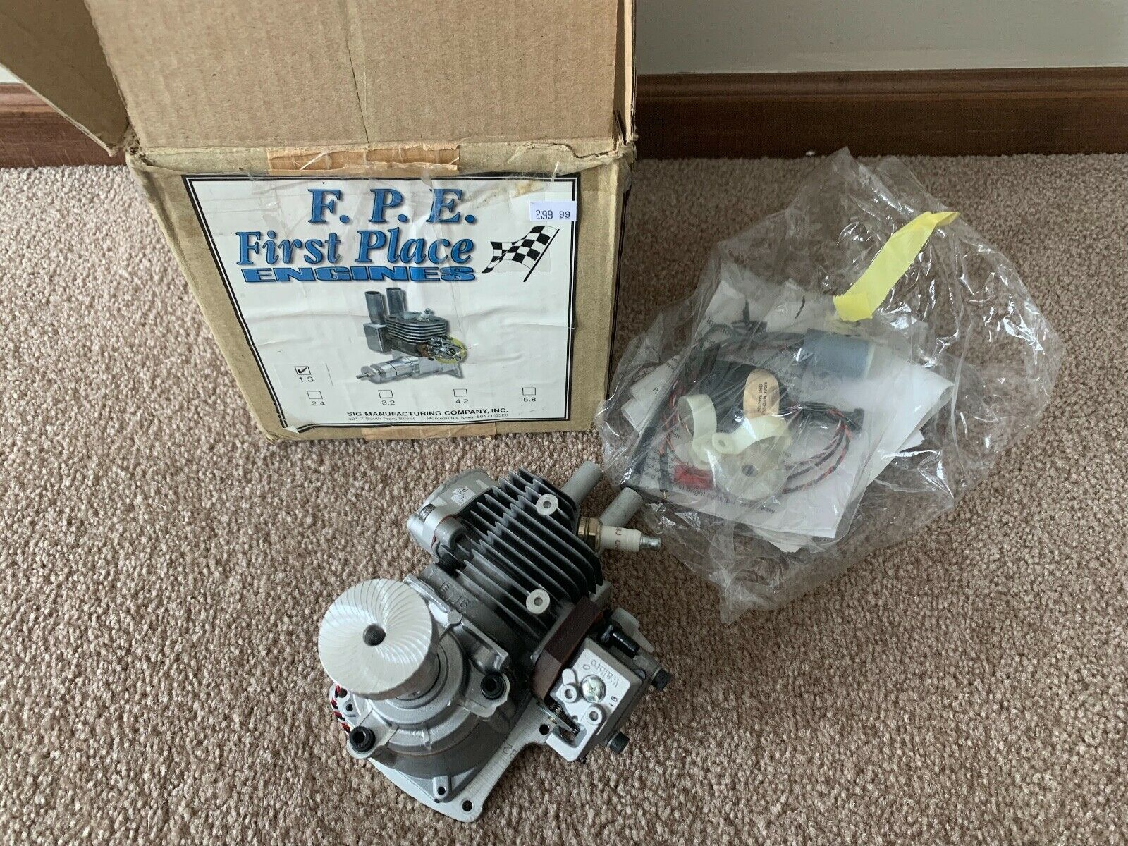 New New New F.P.E. FPE First Place Engines 1.3 20cc Gas RC R C Airplane Engine be05e4