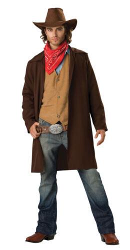 Rawhide Renegade Cowboy Adult Mens Costume Duster Western Halloween
