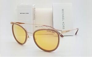d23896774f Details about New Michael Kors sunglasses MK1025 12017J Havana Liquid Rose  Gold Cat AUTHENTIC