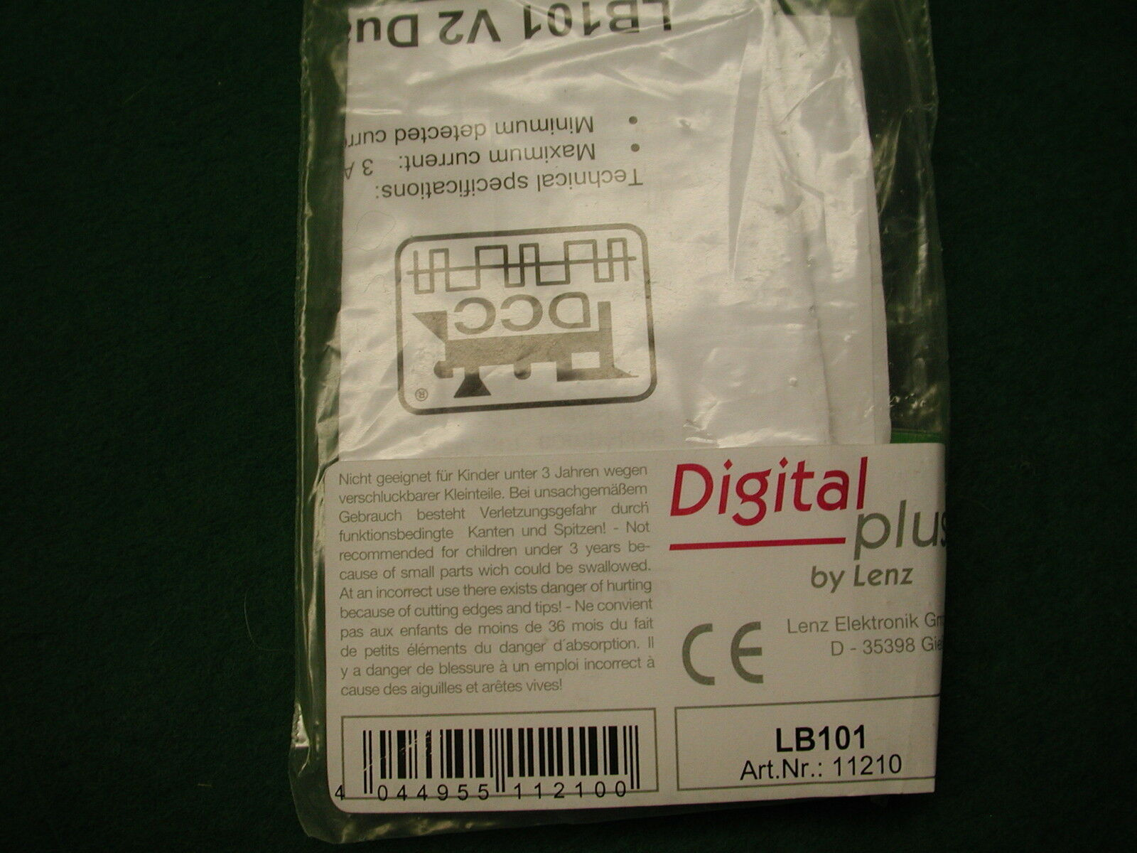 Lenz LRC100 Locomotora Transmisor M 65533;65533;dulo (5 Unidades) Nuevo en Original Paquete