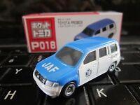 Tomica Taito Prize Half Size P018 Toyota Probox JAF Japan Auto Fed HO Scale 1:87