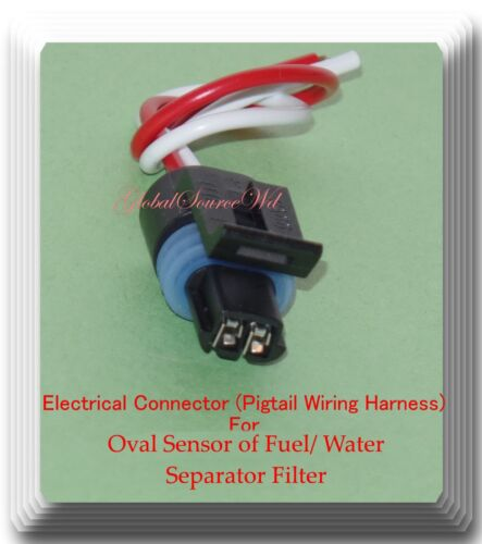 Electrical Connector of Fuel//Water Separator Filter FS1022 For Oval Sensor