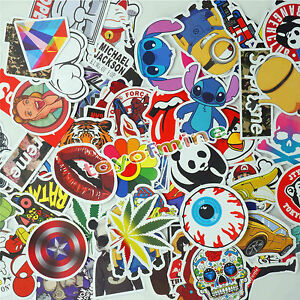 New 50pcs skateboard graffiti sticker skate laptop luggage car bomb image is loading new 50pcs skateboard graffiti sticker skate laptop luggage thecheapjerseys Gallery