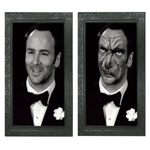 Halloween 3D Haunted Spooky Changing Faces Horror Picture Ghost Photo