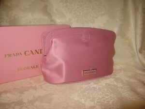 64b2cea1679c Prada Candy 'Florale' Women's Light/Rose Pink Cosmetic Bag/Pouch ...