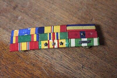 Marine Corps Combat Action Vietnam War Mounted 4 Ribbon Bar USMC