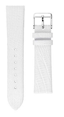 2019 Neuestes Design Neu Uhrenarmband M-watch By Mondaine Ltd Uhrenband Leder Weiß 20mm Fc8920.10q Delikatessen Von Allen Geliebt