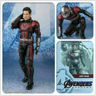 SHF S.H.Figuarts Marvel Comics ANT-MAN and The WASP PVC Action Figure Model Toy