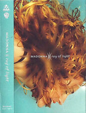 Madonna Ray Of Light CASSETTE SINGLE Maverick ‎W0444C Electronic Synth-pop 1998