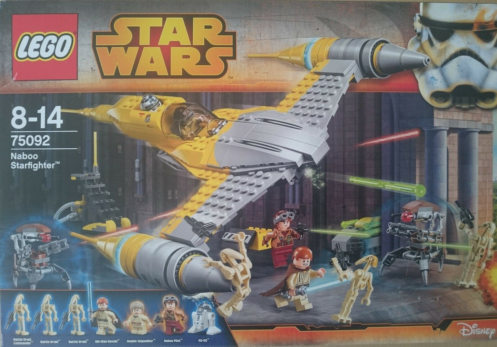 LEGO 75092 STAR WARS NABOO STARFIGHTER. NUEVO