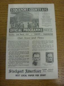 22-03-1947-Stockport-County-v-Darlington-Division-3-North-folded-Any-faults