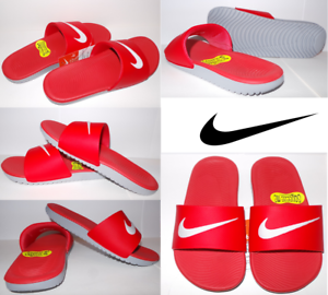 bcdfca767e1ce4 Image is loading Nike-Kawa-Kids-Slide-Sandals-12-13-1-