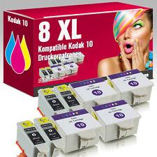 8 Druckerpatronen Kodak 10 für Hero Office 6.1