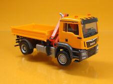 Herpa LKW MAN TG-S M 3-Seiten Kipper orange 308267
