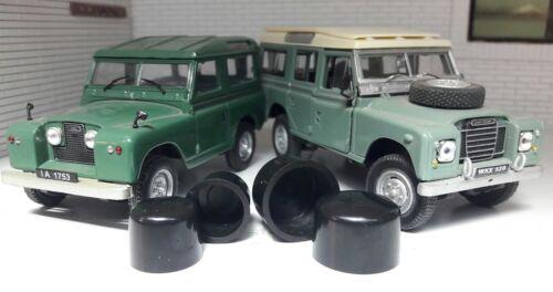 Land Rover Series 2 2a 3 Lightweight Windscreen Bulkhead Pivot Clamp Nut Cap Set