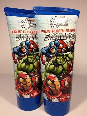 Marvel Avengers Assemble Fruit Punch Blast Shampoo 6 Fl Oz (pack Of 2) High Quality And Low Overhead