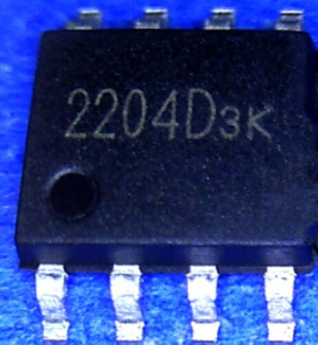 5 pcs New XR2204D 2204D  SOP-8  IC Chip