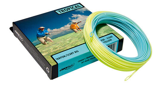 AIRFLO RIDGE TROPICAL CLEAR TIP WF-12-F #12 WT WEIGHT FORWARD FLOATING FLY LINE